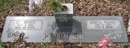 PORTER, LOETTA - Conway County, Arkansas   LOETTA PORTER - Arkansas Gravestone Photos
