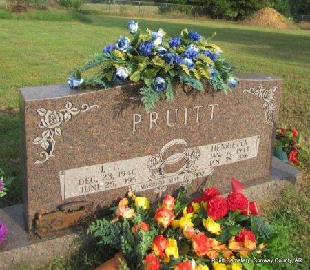 HILL PRUITT, HENRIETTA - Conway County, Arkansas | HENRIETTA HILL PRUITT - Arkansas Gravestone Photos