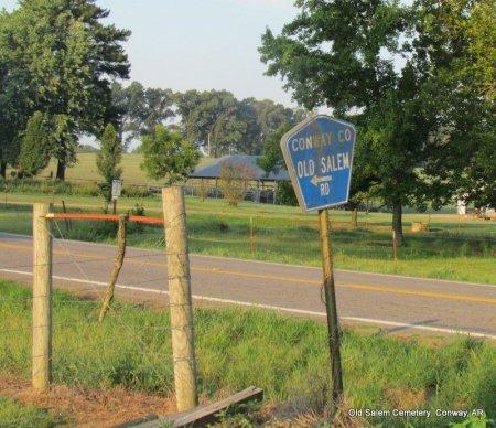 *ROAD SIGN,   - Conway County, Arkansas     *ROAD SIGN - Arkansas Gravestone Photos