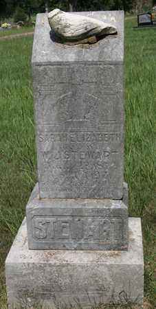 STEWART, SARA ELIZABETH - Conway County, Arkansas | SARA ELIZABETH STEWART - Arkansas Gravestone Photos