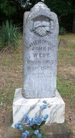 WEST, JOHN M - Conway County, Arkansas | JOHN M WEST - Arkansas Gravestone Photos