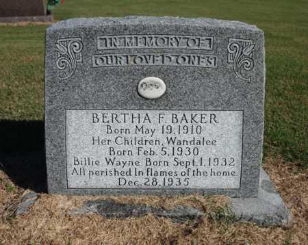 BAKER, WANDALEE - Craighead County, Arkansas | WANDALEE BAKER - Arkansas Gravestone Photos