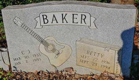 BAKER, C. J. - Craighead County, Arkansas | C. J. BAKER - Arkansas Gravestone Photos