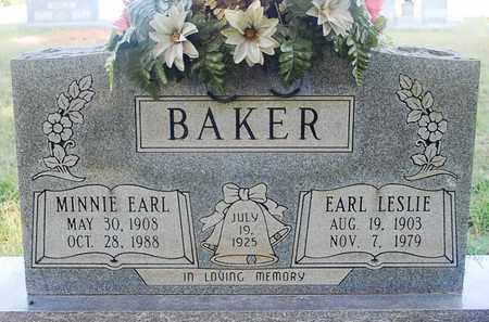 BAKER, EARL LESLIE - Craighead County, Arkansas | EARL LESLIE BAKER - Arkansas Gravestone Photos