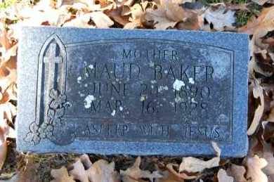 BAKER, MAUD - Craighead County, Arkansas | MAUD BAKER - Arkansas Gravestone Photos