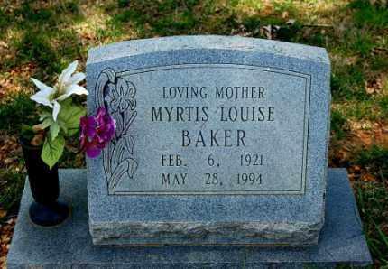 BAKER, MYRTIS LOUISE - Craighead County, Arkansas | MYRTIS LOUISE BAKER - Arkansas Gravestone Photos