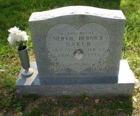 BAKER, NERVIE BERNICE - Craighead County, Arkansas | NERVIE BERNICE BAKER - Arkansas Gravestone Photos
