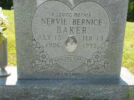 BAKER, NERVIE BERNICE - Craighead County, Arkansas   NERVIE BERNICE BAKER - Arkansas Gravestone Photos