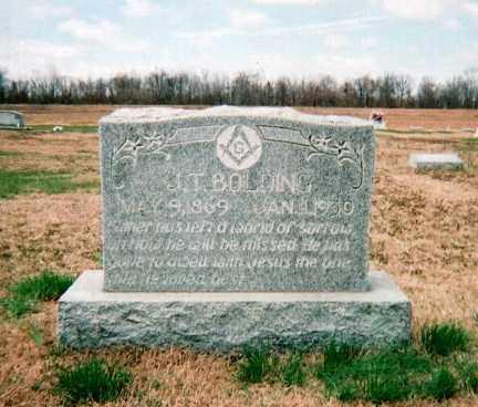 BOLDING, J. T. - Craighead County, Arkansas   J. T. BOLDING - Arkansas Gravestone Photos