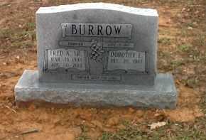 BURROW, FRED AARON - Craighead County, Arkansas | FRED AARON BURROW - Arkansas Gravestone Photos