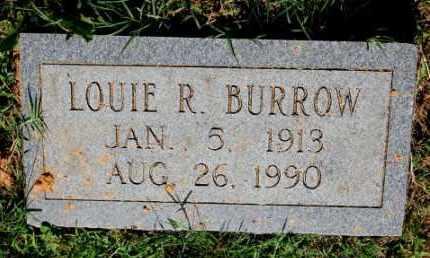BURROW, LOUIE R. - Craighead County, Arkansas | LOUIE R. BURROW - Arkansas Gravestone Photos