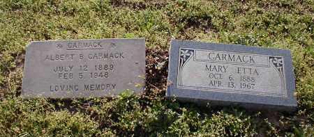 WOOD CARMACK, MARY ETTA - Craighead County, Arkansas   MARY ETTA WOOD CARMACK - Arkansas Gravestone Photos