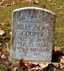COOPER, BILLY DEAN - Craighead County, Arkansas | BILLY DEAN COOPER - Arkansas Gravestone Photos