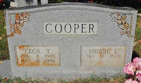 COOPER, SNODIE L. - Craighead County, Arkansas | SNODIE L. COOPER - Arkansas Gravestone Photos