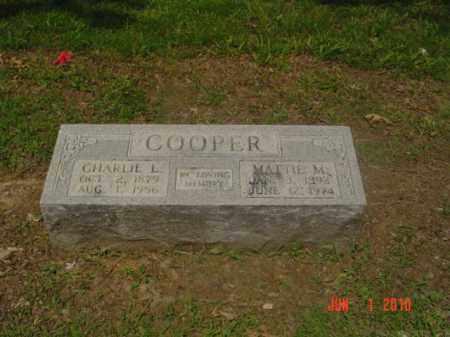 COOPER, CHARLIE L - Craighead County, Arkansas | CHARLIE L COOPER - Arkansas Gravestone Photos