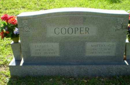 COOPER, MARTHA C - Craighead County, Arkansas | MARTHA C COOPER - Arkansas Gravestone Photos
