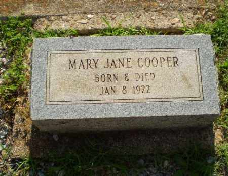 COOPER, MARY JANE (INFANT) - Craighead County, Arkansas   MARY JANE (INFANT) COOPER - Arkansas Gravestone Photos