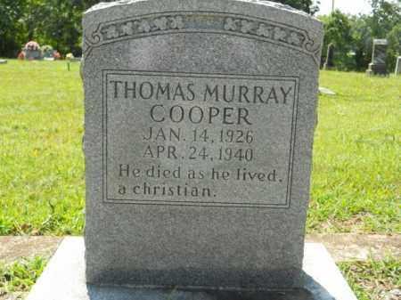 COOPER, THOMAS MURRAY - Craighead County, Arkansas | THOMAS MURRAY COOPER - Arkansas Gravestone Photos