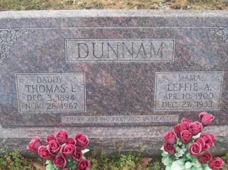 GUEST DUNNAM, LEFFIE ARDELLA - Craighead County, Arkansas   LEFFIE ARDELLA GUEST DUNNAM - Arkansas Gravestone Photos