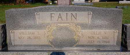 FAIN, OLLIE V. - Craighead County, Arkansas | OLLIE V. FAIN - Arkansas Gravestone Photos