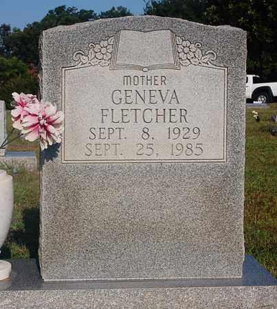 FLETCHER, GENEVA - Craighead County, Arkansas   GENEVA FLETCHER - Arkansas Gravestone Photos