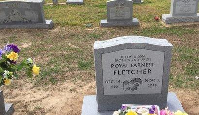 FLETCHER, ROYAL EARNEST - Craighead County, Arkansas | ROYAL EARNEST FLETCHER - Arkansas Gravestone Photos