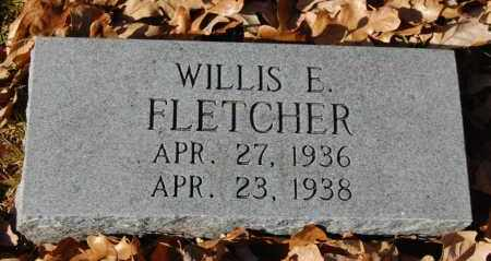 FLETCHER, WILLIS E. - Craighead County, Arkansas | WILLIS E. FLETCHER - Arkansas Gravestone Photos