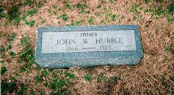 HUBBLE, JOHN W. - Craighead County, Arkansas | JOHN W. HUBBLE - Arkansas Gravestone Photos