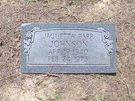 BARR JOHNSON, JAQUETTA - Craighead County, Arkansas | JAQUETTA BARR JOHNSON - Arkansas Gravestone Photos