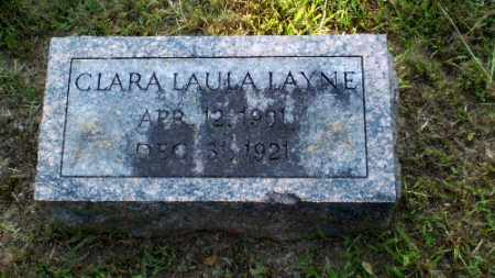 LAYNE, CLARA LAULA - Craighead County, Arkansas | CLARA LAULA LAYNE - Arkansas Gravestone Photos
