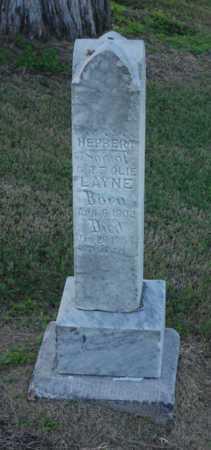 LAYNE, HERBERT - Craighead County, Arkansas | HERBERT LAYNE - Arkansas Gravestone Photos
