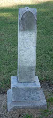 LAYNE, WILLIE - Craighead County, Arkansas | WILLIE LAYNE - Arkansas Gravestone Photos