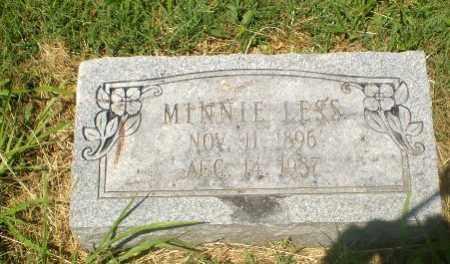 LESS, MINNIE - Craighead County, Arkansas | MINNIE LESS - Arkansas Gravestone Photos