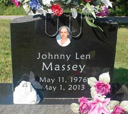 MASSEY, JOHNNY LEN - Craighead County, Arkansas | JOHNNY LEN MASSEY - Arkansas Gravestone Photos
