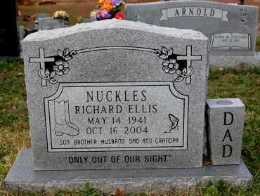 NUCKLES, RICHARD ELLIS - Craighead County, Arkansas | RICHARD ELLIS NUCKLES - Arkansas Gravestone Photos