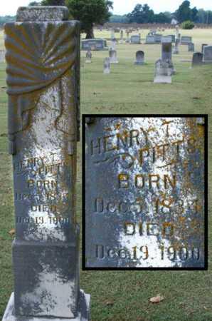 PITTS, HENRY T - Craighead County, Arkansas | HENRY T PITTS - Arkansas Gravestone Photos