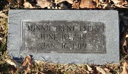 PITTS, MINNIE IRENE - Craighead County, Arkansas   MINNIE IRENE PITTS - Arkansas Gravestone Photos