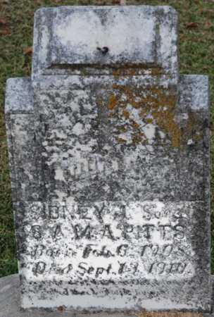 PITTS, SIDNEY - Craighead County, Arkansas | SIDNEY PITTS - Arkansas Gravestone Photos