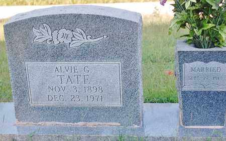 TATE, ALVIE G. - Craighead County, Arkansas | ALVIE G. TATE - Arkansas Gravestone Photos