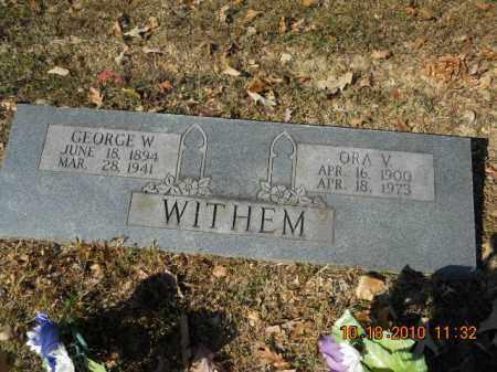 WITHEM, ORA V - Craighead County, Arkansas   ORA V WITHEM - Arkansas Gravestone Photos