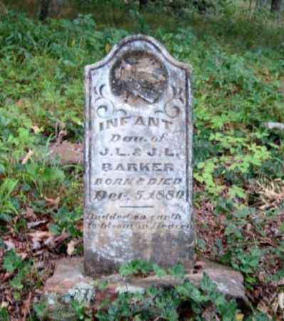 BARKER, INFANT - Crawford County, Arkansas | INFANT BARKER - Arkansas Gravestone Photos