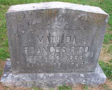 BIRD, MATILDA FRANCES - Crawford County, Arkansas | MATILDA FRANCES BIRD - Arkansas Gravestone Photos