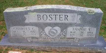 BOSTER, CHARLES C - Crawford County, Arkansas | CHARLES C BOSTER - Arkansas Gravestone Photos