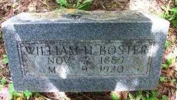 BOSTER, WILLIAM H - Crawford County, Arkansas | WILLIAM H BOSTER - Arkansas Gravestone Photos