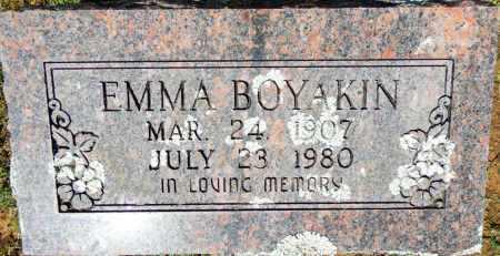 BOYAKIN, EMMA - Crawford County, Arkansas | EMMA BOYAKIN - Arkansas Gravestone Photos
