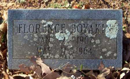 BOYAKIN, FLORENCE - Crawford County, Arkansas | FLORENCE BOYAKIN - Arkansas Gravestone Photos