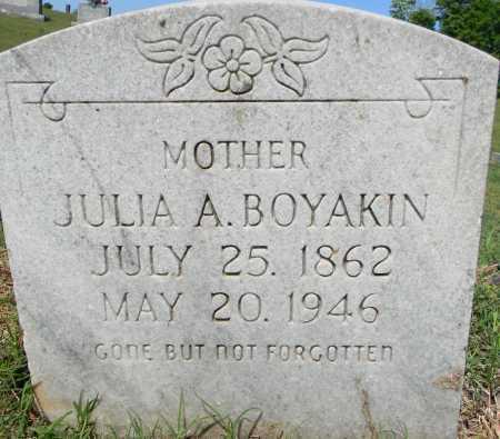 TITSWORTH BOYAKIN, JULIA ALABAMA - Crawford County, Arkansas | JULIA ALABAMA TITSWORTH BOYAKIN - Arkansas Gravestone Photos
