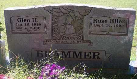 MONTGOMERY BRAMMER, ROSE ELLEN - Crawford County, Arkansas | ROSE ELLEN MONTGOMERY BRAMMER - Arkansas Gravestone Photos