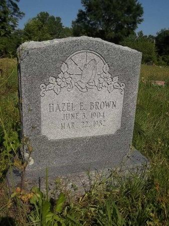 BROWN, HAZEL E. - Crawford County, Arkansas   HAZEL E. BROWN - Arkansas Gravestone Photos