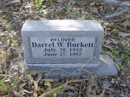 BURKETT, DARREL W. - Crawford County, Arkansas | DARREL W. BURKETT - Arkansas Gravestone Photos
